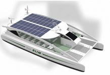 Солнечные батареи для катера и яхты