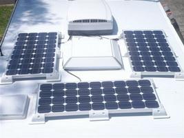 Автомобильный комплект для солнечной батареи