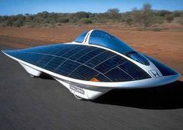 автомобиль на солнечной энергии