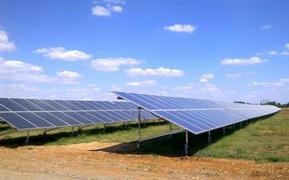 Солнечная электростанция на Украине