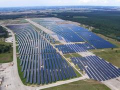 Солнечная электростанция в Германии