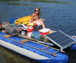 Безмоторник на солнечных батареях