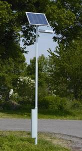 Автономное освещение на солнечных батареях
