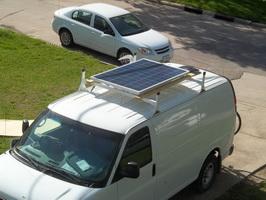 Солнечная батарея на автодоме