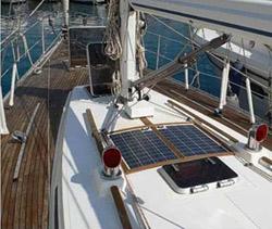 Солнечная батарея для яхты и катера