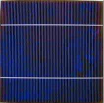 монокристаллические солнечные элементы