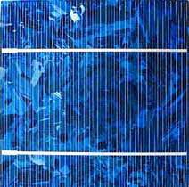 поликристаллические солнечные элементы